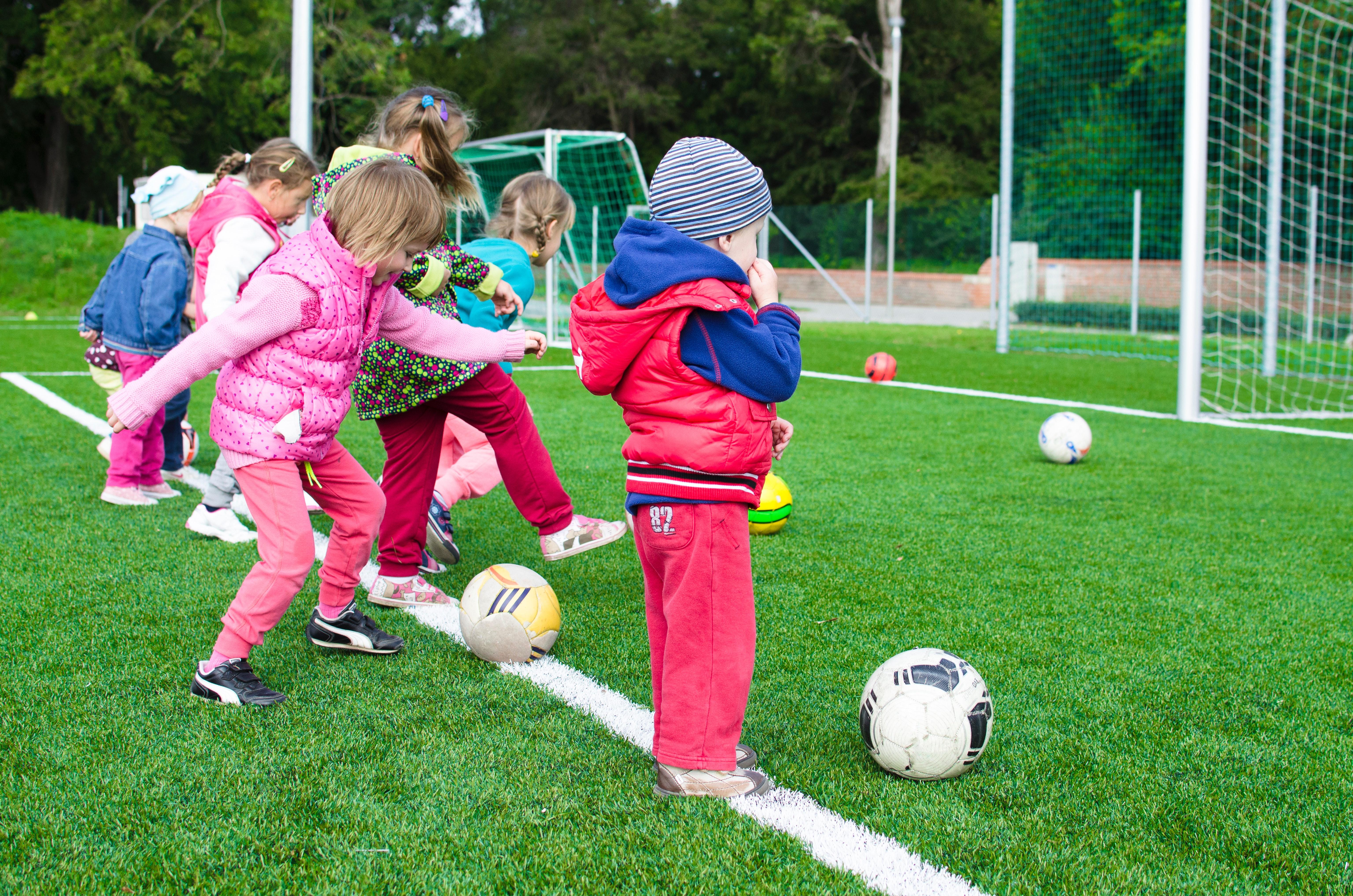 Fotbollsträning för de minsta